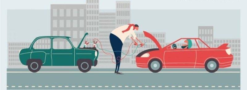 Прикурить авто в СПб (812)-400-60-40